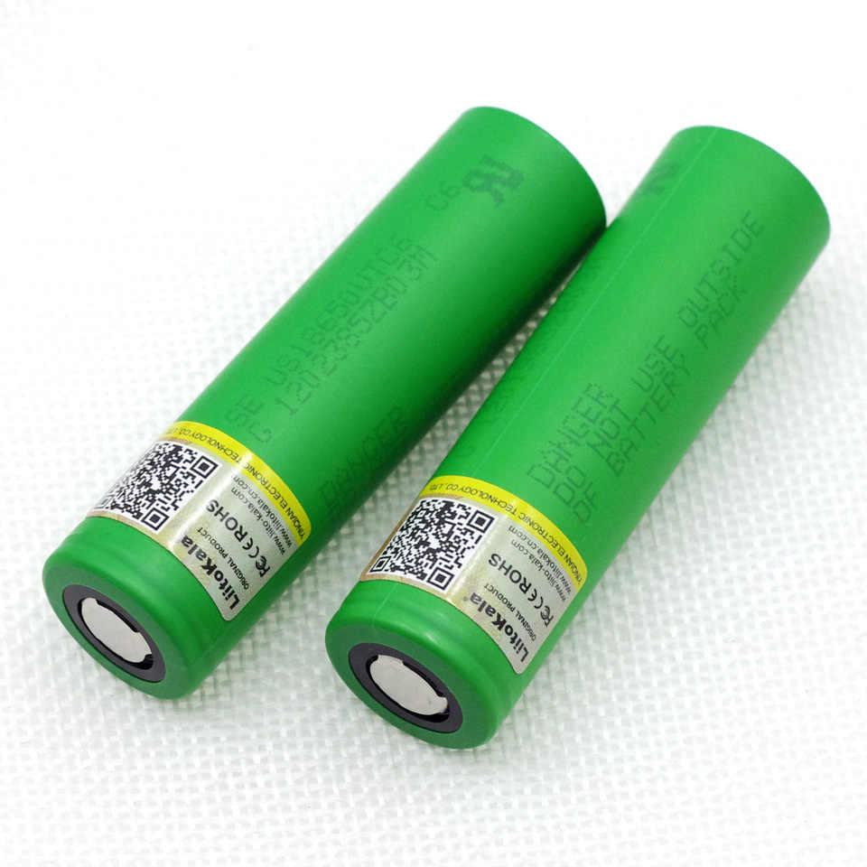 Liitokala VTC6 بطارية US18650VTC6 3000 مللي أمبير 3.7 فولت 30A عالية استنزاف بطارية ليثيوم 18650 البطاريات القابلة لإعادة الشحن لسوني e-cigarett