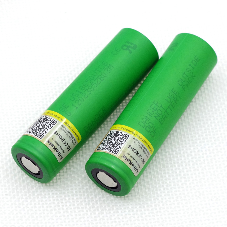 Liitokala VTC6 battery US18650VTC6 3000mAh 3.7v 30A high drain lithium 18650 rechargeable batteries for Sony e-cigarett 2pcs new original lg hg2 18650 battery 3000 mah 18650 battery 3 6 v discharge 20a dedicated electronic cigarette battery power