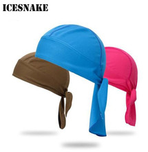 ICESNAKE Motorcycle Face Mask Headband Summer Quick Dry Skull Caps Helmet Balaclava Headwrap Bandana