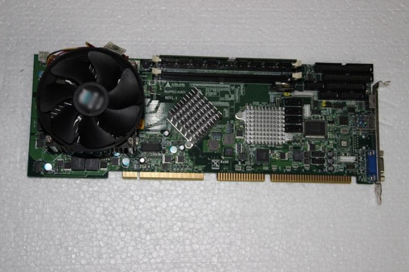 Original NUPRO-A301 REV: 1.1 industrial motherboard ipc board nupro 841 rev 1 0 100% test