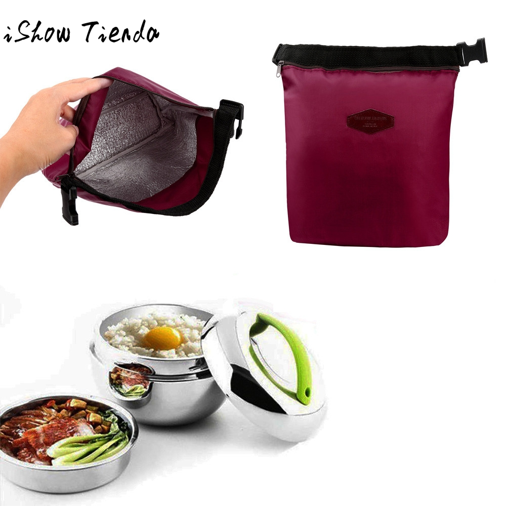 Waterproof Thermal Cooler Insulated Lunch Box Portable Tote Storage Picnic Bags Bolsas De Almuerzo Termicos