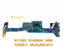 Original forACER S7-392 laptop motherboard S7-392 I5-4200U 4GB 12302-1 48.4LZ03.011 tested good free shipping