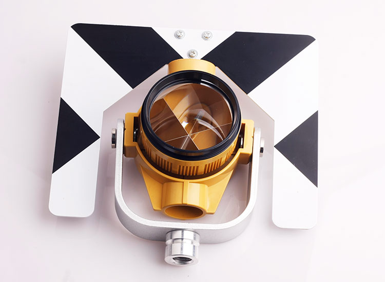 Black and White Single Prism For Nikon Topcon Sokkia Total Station Constant -30 0 Mm Surveying Equirement brand new nikon single prism prisms for nikon total station stations