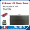 Diy полноцветный крытый из светодиодов видео-дисплей вывеска 8 шт. p5 из светодиодов модули 2 шт. питания + 1 шт. крытый видеостены платы управления