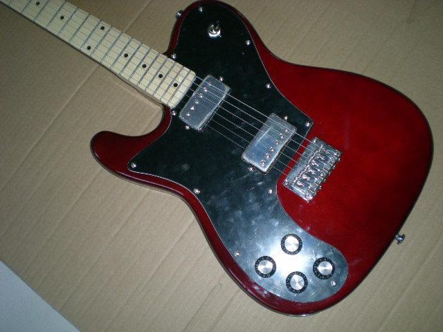 Electric guitar /2018 new guitar / Left-handed / dark red guitar/ Chinese Guitar.