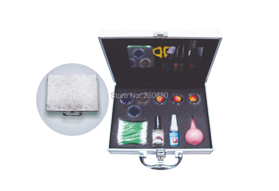 ФОТО World beauty professional factory price high quality eyelash extension set/make up case