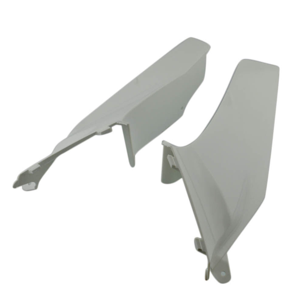 White Unpainted Fairing Parts Left Right Side Air Duct Cover Fairing Cowl Motorcycle For Honda CBR600RR