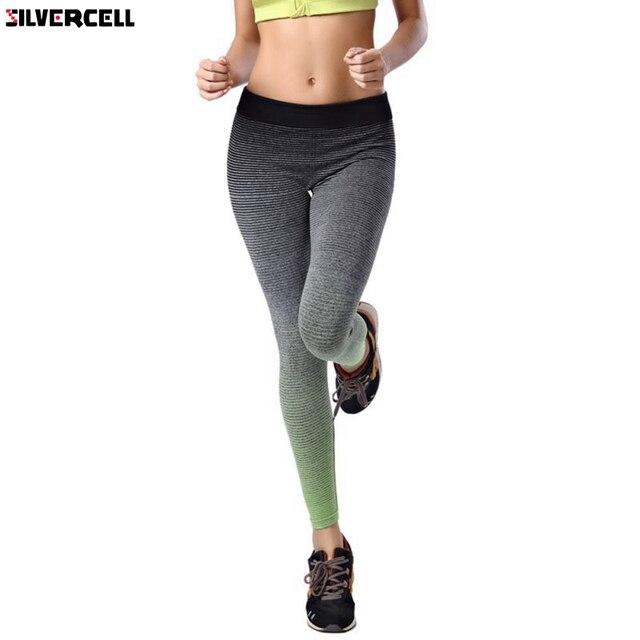 441a2721ddbeb Mujeres fitness Leggings Pantalones calzas deportivas mujer elástico casual  Leggings bodybuilding calzados 2017