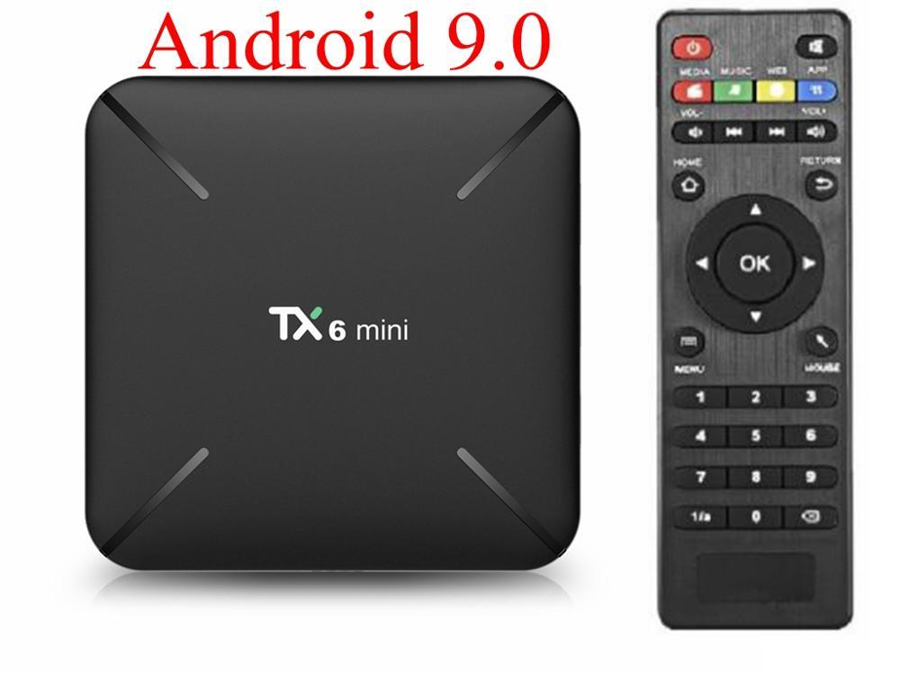 5pcs TX6 Mini Android 9.0 TV Box Allwinner H6 Quad Core 2GB DDR3 16GB 2.4G WiFi USB3.0 Supporto 4K H.265 UHD Smart Media Player-in Set box TV da Elettronica di consumo su AliExpress - 11.11_Doppio 11Giorno dei single 1