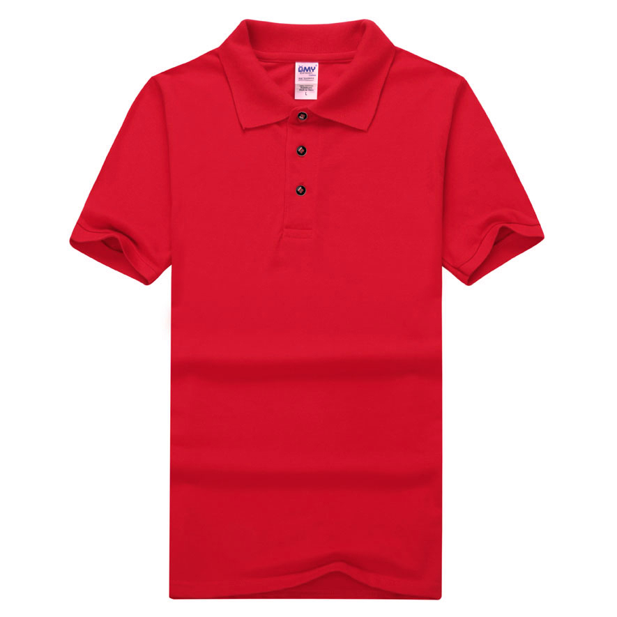 2017 high quality custom solid color women polo shirt for High quality custom shirts