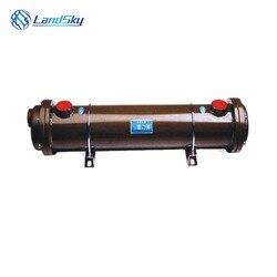 Warmtewisselaar in airconditioning warmtewisselaar in gekoeld water systeem oliekoeler OF-100 NPT 3/4 shell en warmtewisselaar