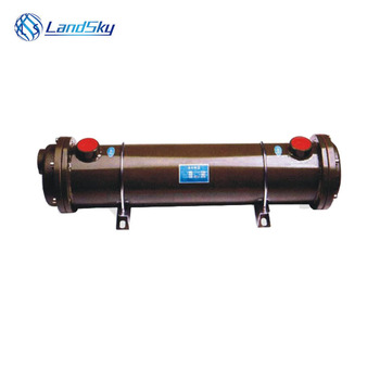 heat exchanger in air conditioning heat exchanger in chilled water system oil cooler OR-100 NPT 3/4 shell and heat exchanger