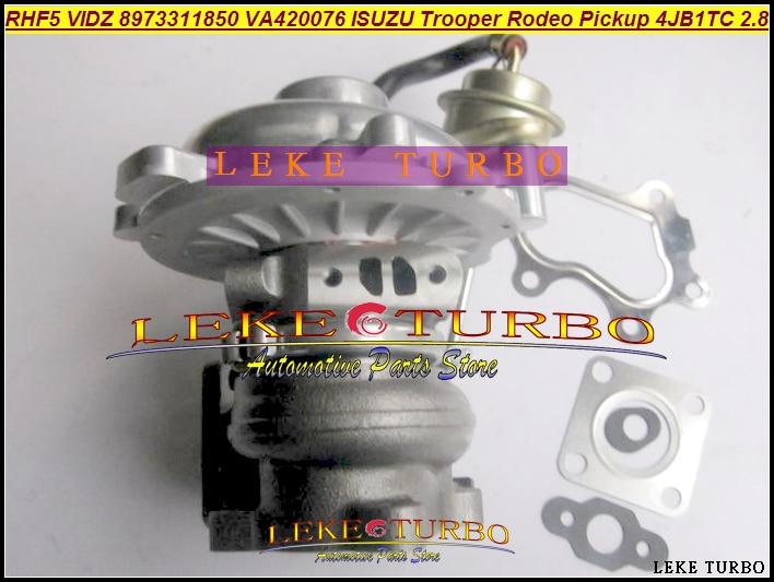 Bateau libre RHF5 VIDZ 8973311850 3047087 VD420076 VA420076 VB420076 1118010802 Turbo Pour ISUZU Pickup camion 4JB1TC 4JB1 4JB1T 2.8L