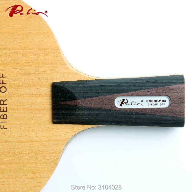 Palio resmi enerji 04 masa tenisi blade 40 + yeni malzeme masa tenisi raketi oyun döngü ve hızlı saldırı 9ply