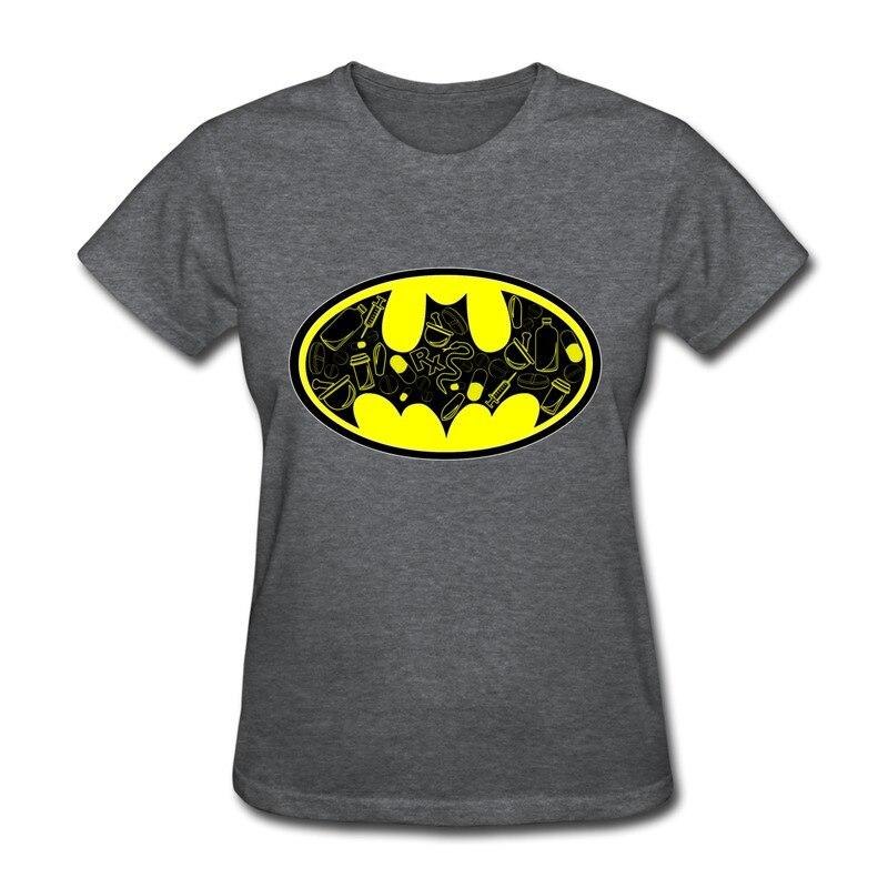 993477756da Girls Casual Tshirt Batman Logo Pic4 cute Business quotes Tshirts O-Neck T  shirt 1pc Only