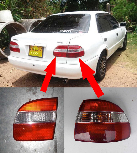 For Toyota Corolla Ae111 Ae110 2000 Year Taillights Rear Lamp