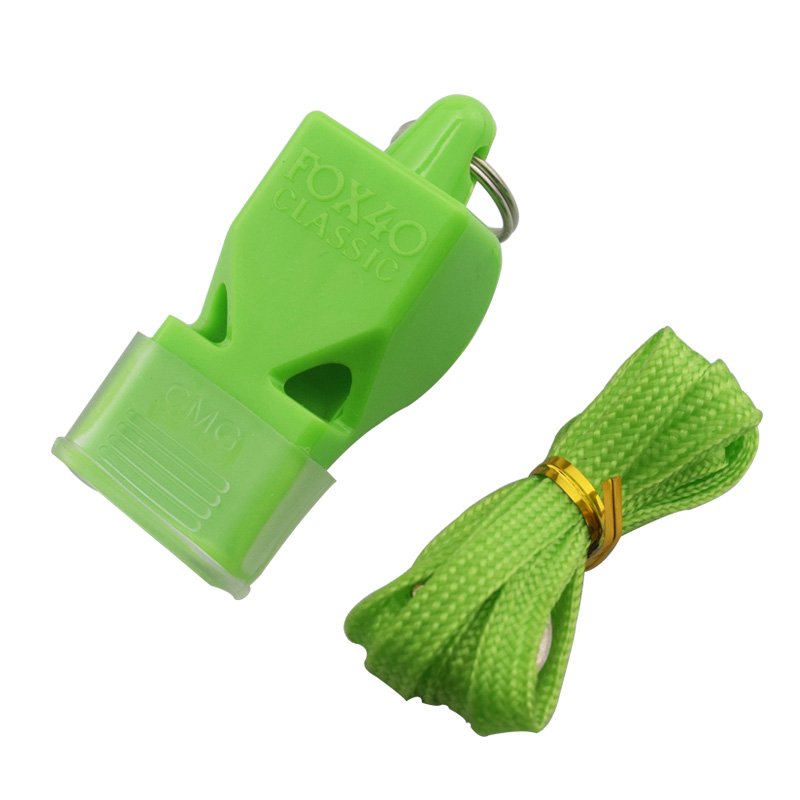 1pcs Whistle Plastic FOX 40 Soccer Football Basketball Hockey Baseball Sports Classic Referee Whistle Survival Outdoor 2008 donruss sports legends 114 hope solo women s soccer cards rookie card