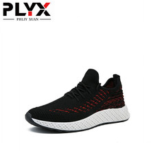 цена на PHLIY XUAN  New 2019 Men Summer Shoes Breathable Mesh Patchwork Men's shoes Zapatos Hombres Chaussure Homme