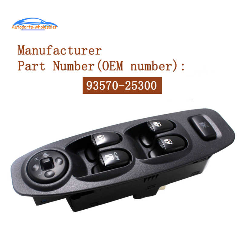 93570 25300 9357025300 for hyundai accent 2002 2006 car left drivers side power window switch auto parts car switches relays aliexpress 93570 25300 9357025300 for hyundai