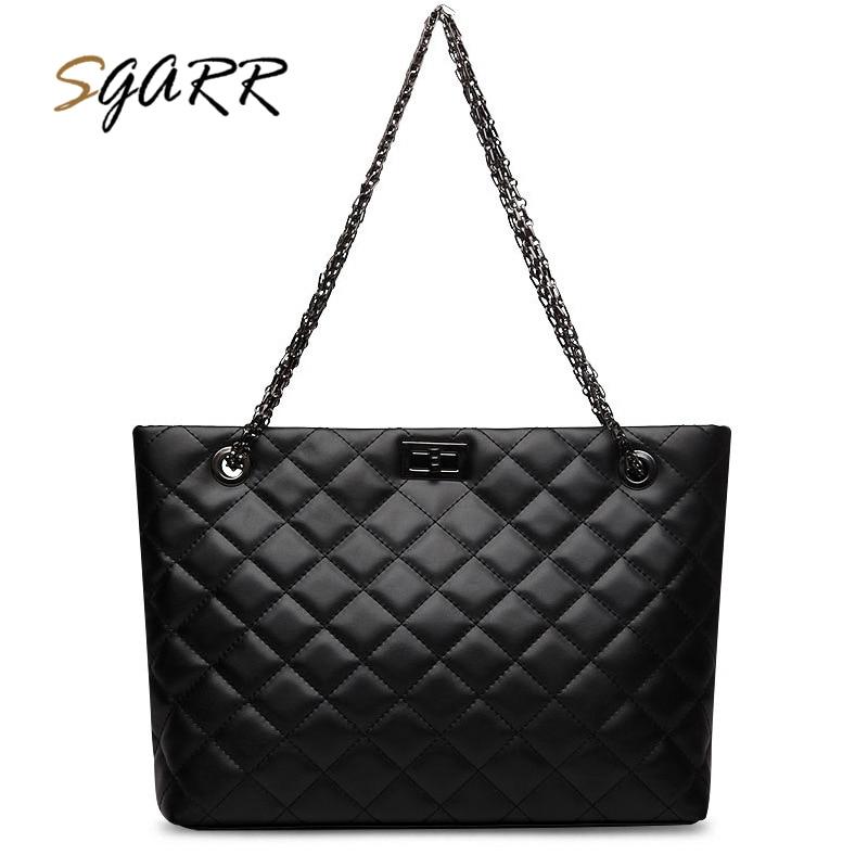SGARR High Quality Soft PU Leather Womens