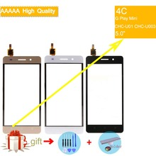 For Huawei Honor 4C G Play Mini CHC-U01 CHC-U003 Touch Screen Touch Panel Sensor Digitizer Front Glass Touchscreen NO LCD недорого