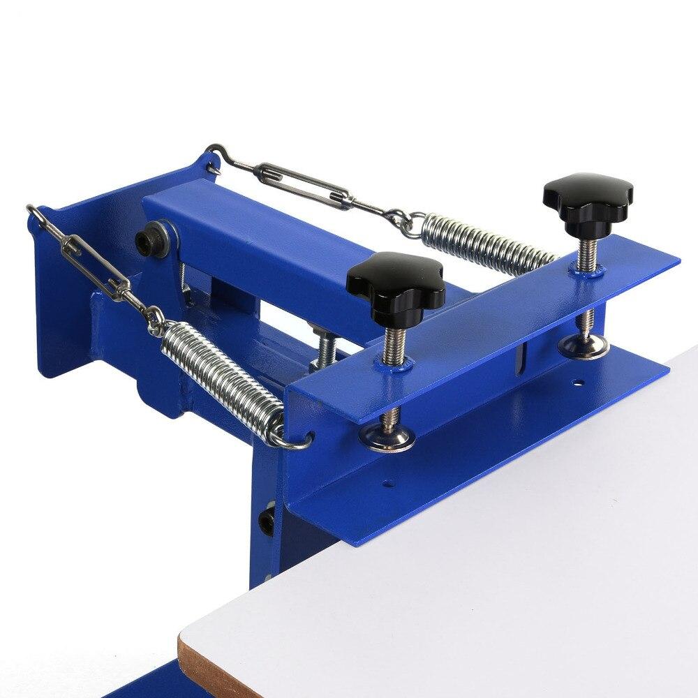 New 1 Color 1 Station Silk ScreeningScreen Printing Machine Screenprint Press