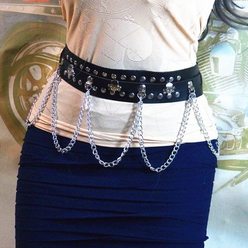 Leather Harness Women Bdsm Waist Chain Belt Arnes Mujer -1620