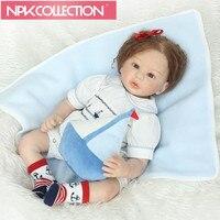 22INCH 55cm Vinyl Silicone Baby Reborn Dolls love chucky Handmade Kids Princess Kids Toys dolls bjd doll baby reborn D107 N161