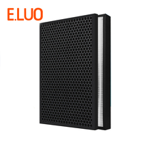 High efficiency activated carbon collect dust hepa filter and deodorization filter of air purifier parts for F-VXG70C-R etc