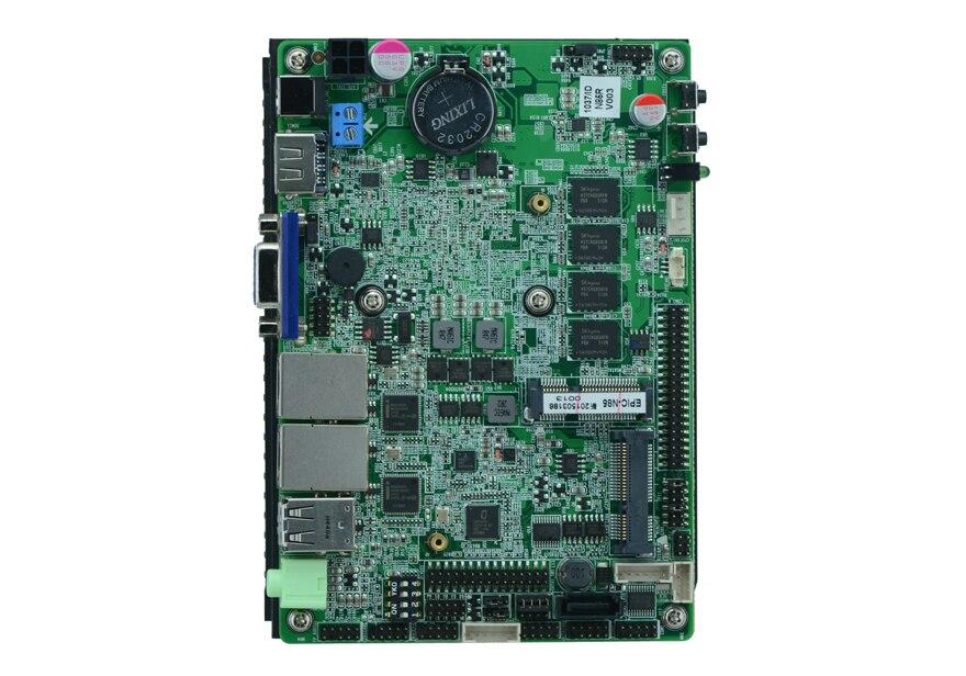 Sans ventilateur Intel N2930 Quad core Baytrail 3.5 pouce SBC intégré carte mère N85 avec 6 * USB/6 * COM/VGA/LVDS/DC