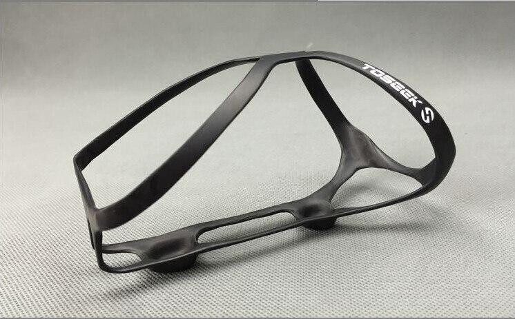 Tosearch 1 pièces marque carbone eau Cage bouteille vélo Durable Lite cyclisme vélo Cage blanc/noir haute qualité pleine carbone cage