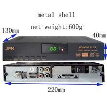 Livraison gratuite set top box Récepteur Satellite DVB-S2 1080 P HD satellite TV Décodeur Vous tube, cccam, powervu, en ligne film