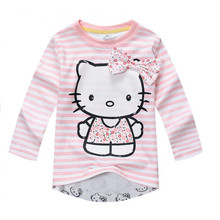 Jumping meters clothing Girls T shirt long sleeves Fashion Children Cotton Baby Girls Tshirts for kids Girls clothing Tops