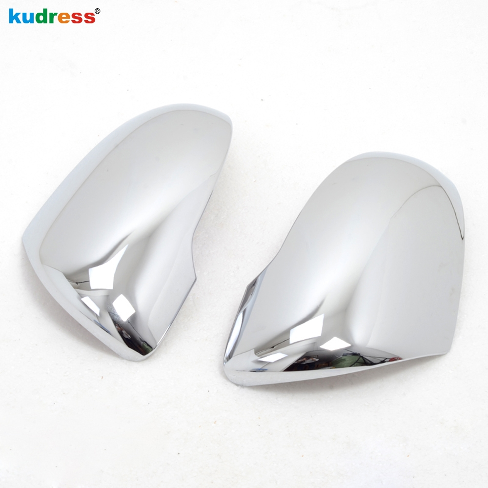 For <font><b>KIA</b></font> Sorento 2016 2017 2018 ABS <font><b>Chrome</b></font> Car Exterior Side Rearview Back <font><b>Mirror</b></font> Cover Protectors Molding Trim Auto Accessories image