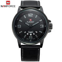 Men Sports Watches Top Luxury Brand NAVIFORCE Men S Analog Date Quartz Clock Man Fashion Sport