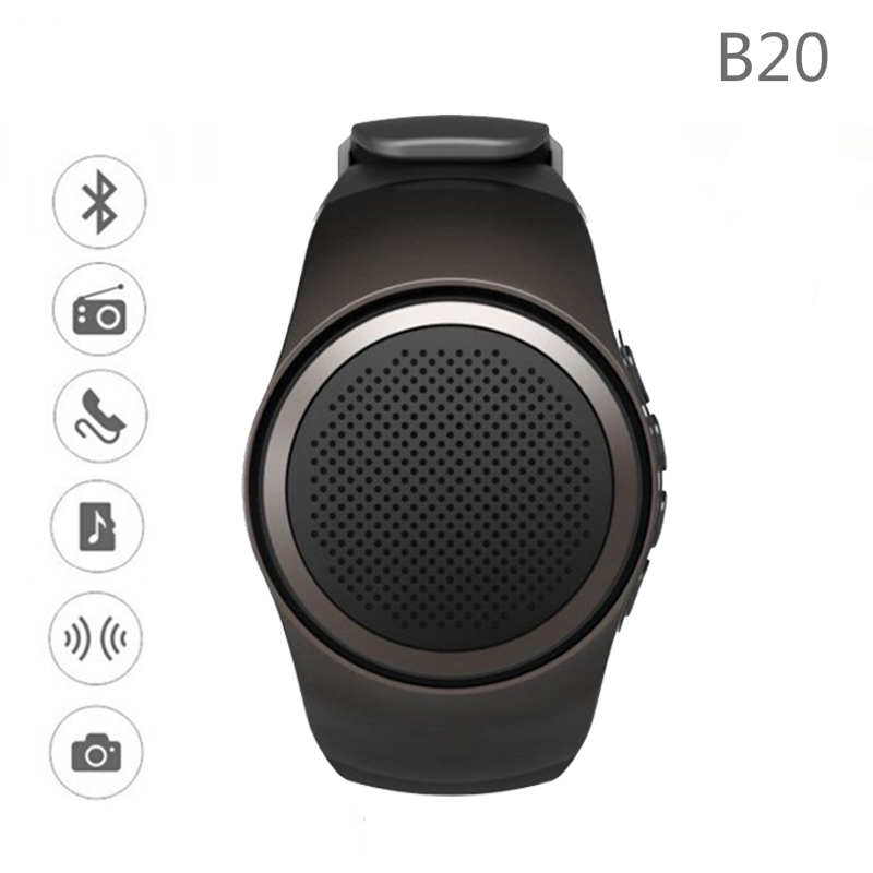 B20 Bluetooth Smart Watch Hands free call with Self timer Anti Lost Alarm TF Card FM