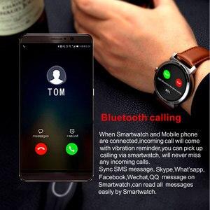 Image 2 - K88H 플러스 스마트 워치 HD 디스플레이 심장 박동 모니터 보수계 피트니스 트래커 남자 Smartwatch 안드로이드 아이폰에 연결