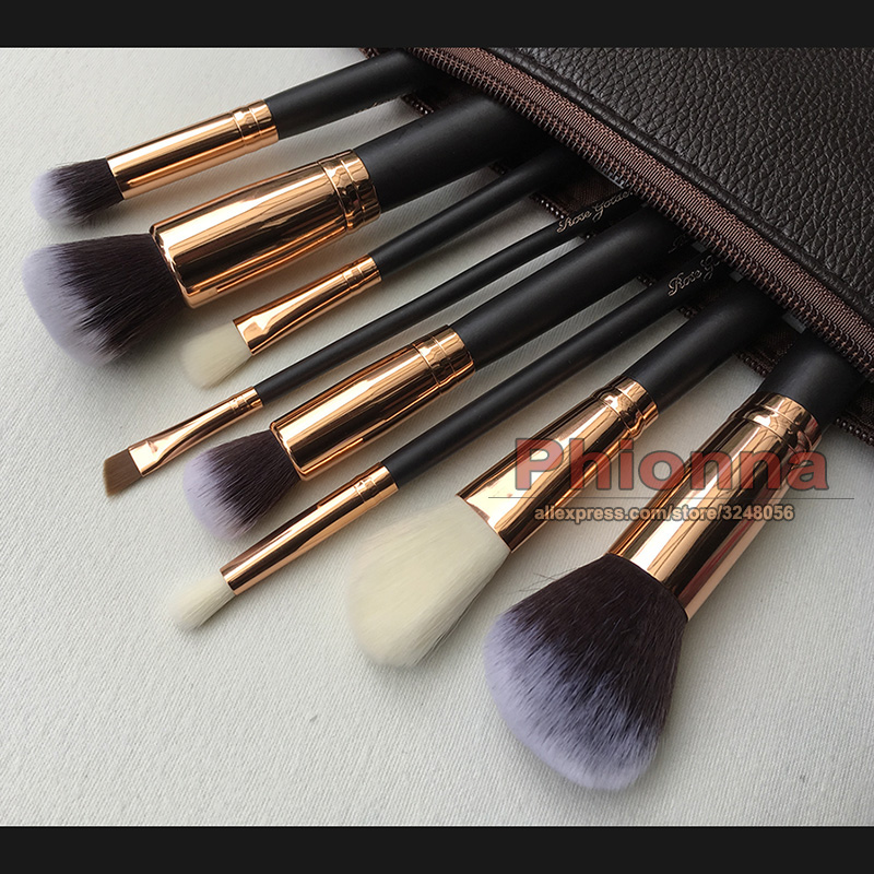 Professional Brand 8 pcs Makeup Brushes Set Powder Foundation Eyes shadow Eyebrow Brush Cosmetics Make Up Tool in Eye Shadow Applicator from Beauty Health