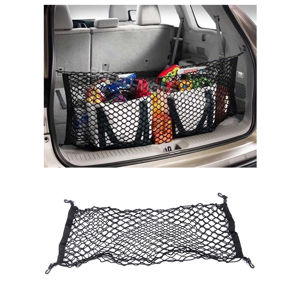 Universal Car Rear Trunk Boot Organizer Pocket Cargo Net Mesh Storage Car Receive Arrange Net 92.5cm*42cm
