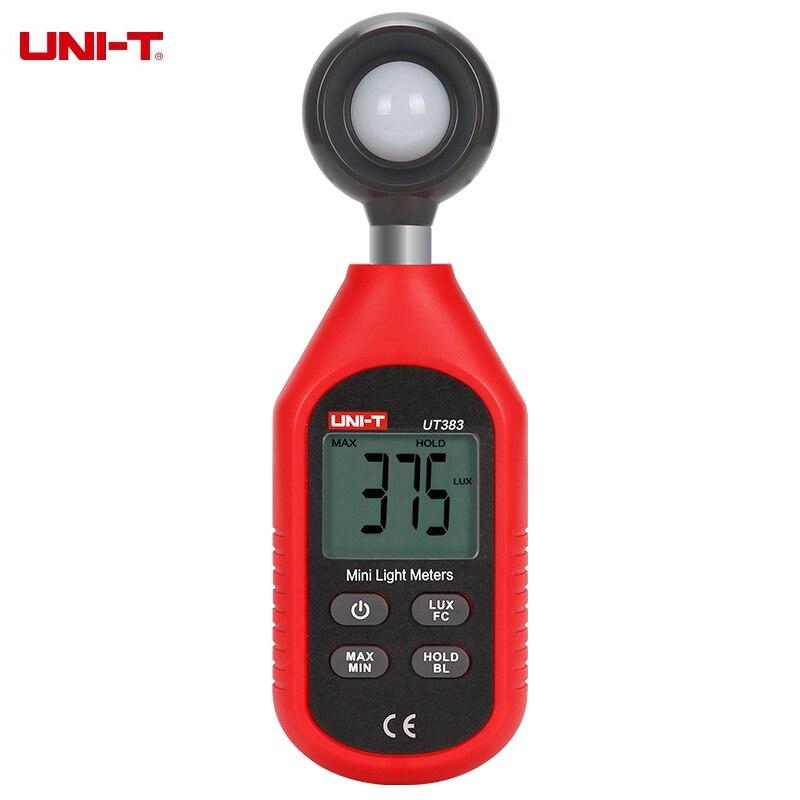 UNI-T UT383 Digitale Luxmeter Licht Meter Lux/FC Meter Luminometer Photometer 200,000 Lux