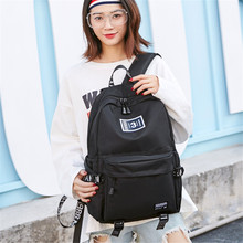 Nylon Backpack Female Korean Version Of The Tide New Canvas Simple Versatile Casual Computer bag