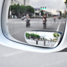 1 Pair Square Blind Spot Mirror 360 Degree ABS Glass Universal for Vehicles Car