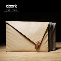 D-park Wodoodporna Torba Na Laptop Case dla MacBook Pro 13 Powietrza torba dla Xiaomi Nylonu Torba Na Laptopa Notebooka Powietrza 12 Odporny Na Wstrząsy torebka