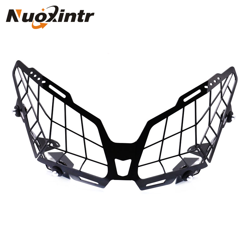 NUOXINTR Motorcycle Grille Headlight Protector Guard Lense Cover For YAMAHA tracer 900 MT-09 Tracer FJ-09 2016-2017 FJ 09 for yamaha fj 09 mt 09 tracer 2015 2016 motorcycle accessories radiator grille guard cover protector fuel tank protection net
