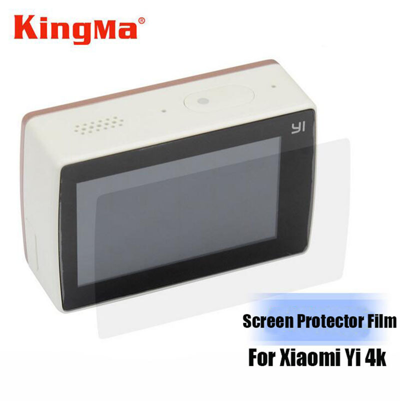 Kingma 3pcs Screen Protective Film For Xiaomi yi 4k Protect Camera Screen LCD Display For Xiaomi Yi 2 Action Camera Accessories