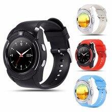 V8 SmartWatch Bluetooth Smartwatch Touch Screen Wrist Watch with Camera/SIM Card Slot, Waterproof Smart Watch DZ09 X6 VS M2 A1