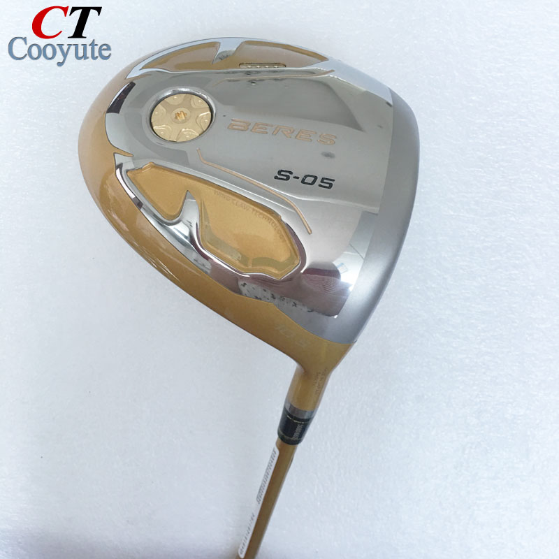 New mens Cooyute Golf clubs driver HONMA S-05 4 Star Golf driver 9.5 or 10.5 loft clubs with Graphite Golf shaft Free shipping