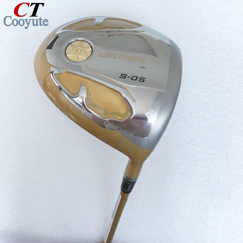 New mens Cooyute Golf clubs pilote HONMA S-05 4 Étoiles De Golf pilote 9.5 ou 10.5 loft clubs avec Graphite De Golf arbre Livraison gratuite