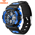 HOSKA 2016 New Sport Wristwatch for Men Relogio Masculino Multifuntional Chronograph Men Watch Pointer Digital Watches Relojes
