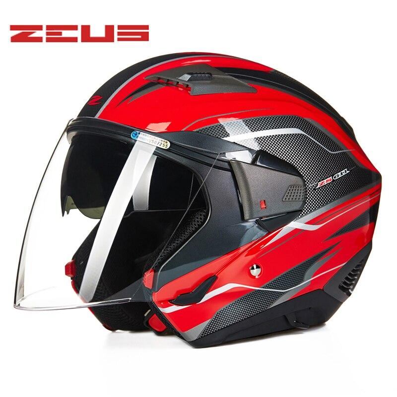 Casque moto intégral Face ouverte casque modulaire facile fermoir fermeture coffre-fort casques combinés multi-fonction Casco Motocross